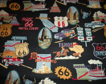 Route 66 - Alexander Henry Fabric 1 Yard