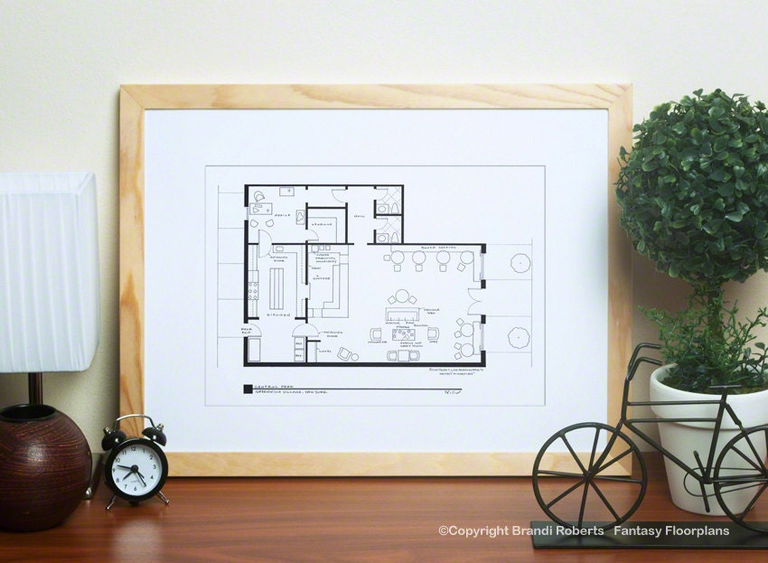 Central perk cafe coffee shop floor plan friends tv show zoom malvernweather Gallery