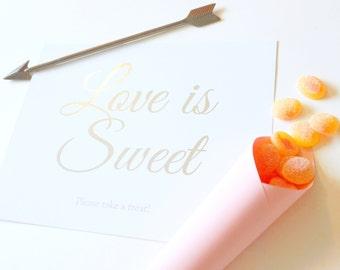 Love is Sweet Print