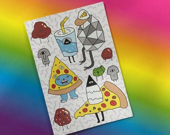 PIZZA NOTEBOOK!