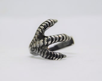 Sterling Silver Custom Claw Ring