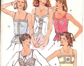 Butterick 6143 UNCUT Misses' Tops   ID475A sewing pattern