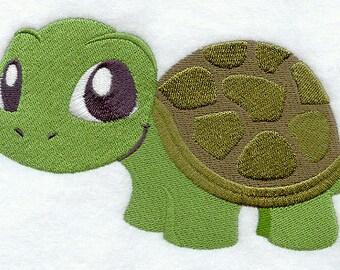 Adorable Turtle Embroidered Flour Sack Hand/Dish Towel