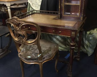 Victorian Desk and Chair - AS IS