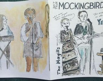 Mockingbird Tyler 2017 Fundraiser Fanzine