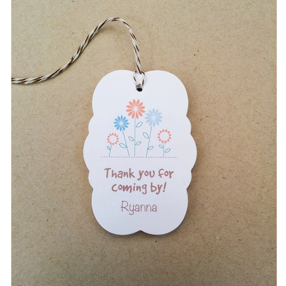 Personalized gift tags spring flower gift tags custom easter personalized gift tags spring flower gift tags custom easter gift tags all occasion gift tags favor tags for bridal shower tg 06 from dearmonday negle Images