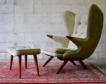 PAPA BEAR styled mid century Modern Lounge Chair