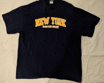 Vintage New York empire State building t shirt