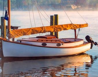 Nautical Photography -  Morning At The Shore