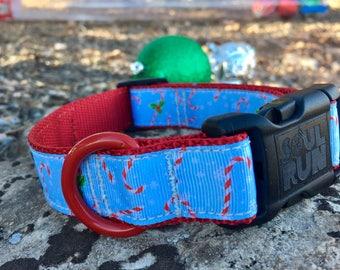 Dog Collar - Candy Canes