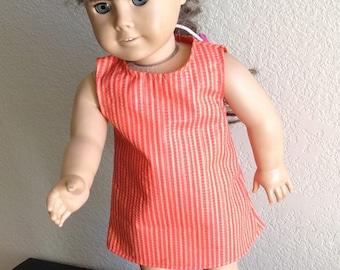 """Dress Made to fit 18"""" Dolls Such as American Girl Item #108"""