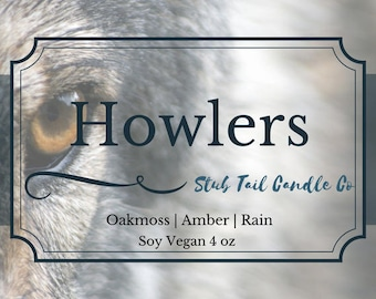 Howlers - Scented Soy Candle Inspired by Red Rising