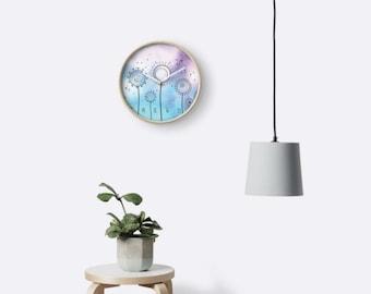 Wall Clock - Magic Dandelions