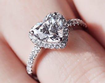 Heart promise ring SZ 5