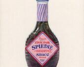 Spiedie Marinade. Original egg tempera illustration from 'The Taste of America' book.