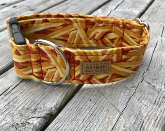 French Fries Dog Collar, fast food, mcdonalds