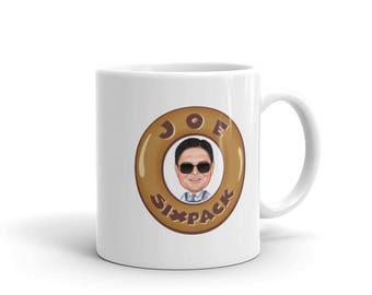 Dare To Be A Saint Coffee Mug Blue
