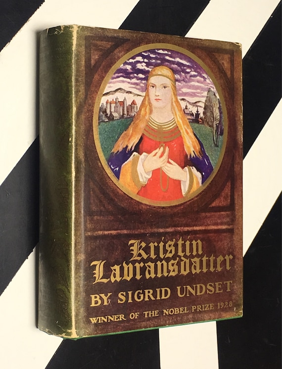 Kristin Lavransdatter (The Bridal Wreath; The Mistress of Husaby; The Cross) by Sigrid Undset (1939) hardcover book