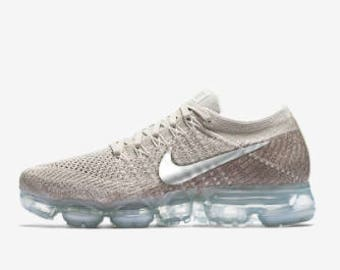 Nike VaporMax Flyknit Made with SWAROVSKI® Crystals - String/Sunset Glow/Taupe Grey/Chrome