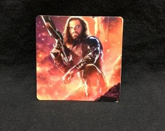 "Bucky Barnes - Avengers: Infinity War - 3""x3"" Magnet"