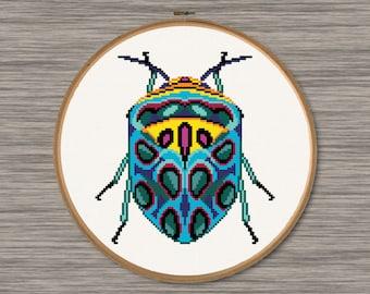 Beetle  - PDF Cross Stitch Pattern