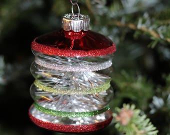 Shiny Brite, Christopher Radko glass Christmas ornaments - vintage