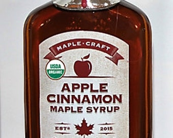 Organic Apple Cinnamon Maple Syrup