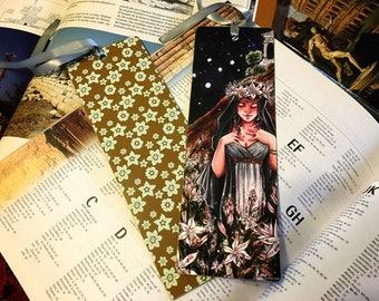 Persephone and asphodels bookmark