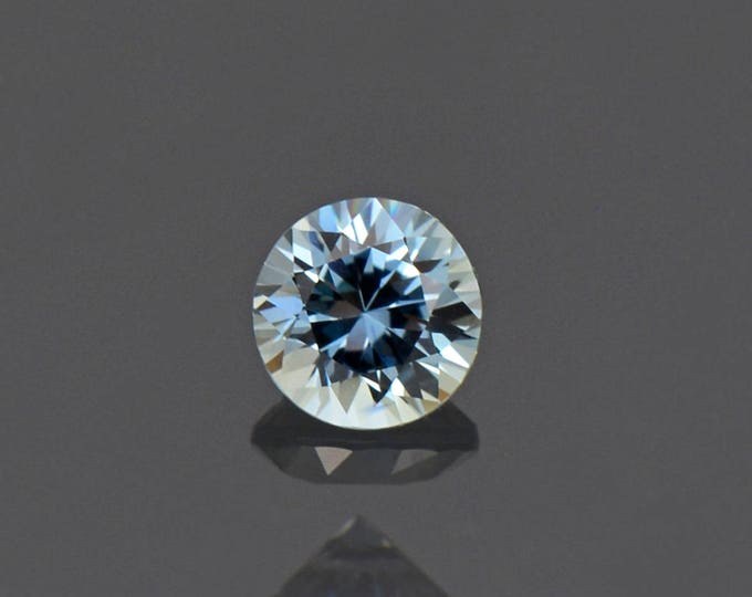 Excellent Sky Blue Sapphire Gemstone Round 5 mm from Montana 0.69 cts.