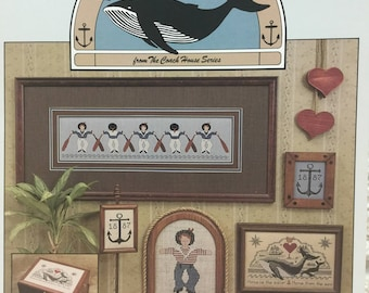 Cross Stitch Leaflet - Whale Watch - 1986