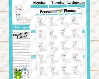I run on coffee, caffeine, and cuss words --- planner stickers --- 312