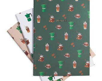 COFFEE TIME Notebook Set