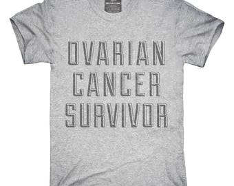 Ovarian Cancer Survivor T-Shirt, Hoodie, Tank Top, Gifts