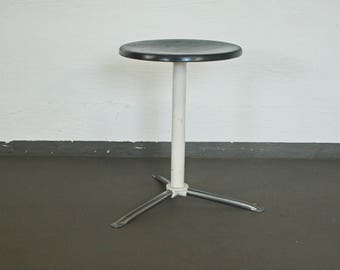 Doctor stool in Mauser style with a seat and Chrome | 50s, 60s