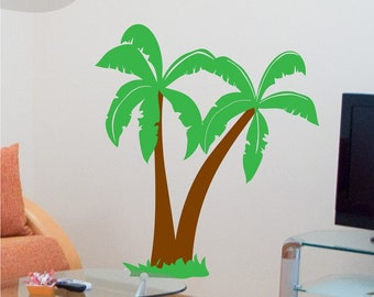 Dino Palms - Vinyl Wall Decal