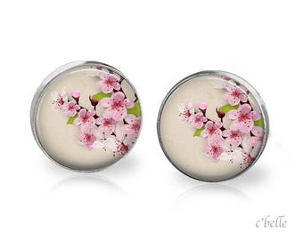 Earrings cherry blossoms 69