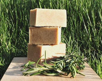 Rosemary Peppermint & Sage Bar Soap