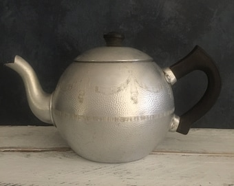 Vintage Swan Brand teapot with original teacosy, food photography prop, food styling prop