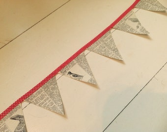 Mini Vintage Dictionary Bunting.