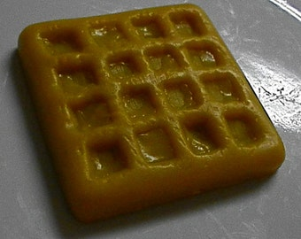"Glycerine ""Waffle"" Exfoliating Soap - Butter & Syrup Option - Choose your fragrance"