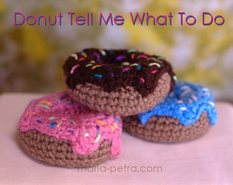 Crochet Donut with Frosting and Sprinkles > Crochet > Home Decor > Desk Accessory