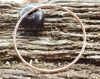 Copper Jonc Bracelet - Jonc HandMade at your size !!