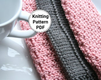 KNITTING PATTERN-Basket Weavin', Mini Basket Weavin', Wide Wale, Dishcloth Patterns, Set of 3 Dishcloth Patterns