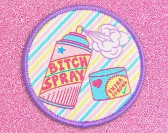 Bitch Spray iron-on patch
