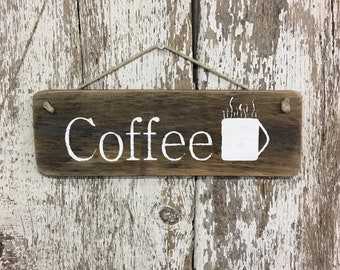Coffee Signs Coffee Wood Sign Rustic Coffee Wood Sign I love Coffee Sign Kitchen Signs Coffee Decor Sign for Coffee Shop Signs Gift for#1985