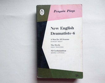 New English Dramatists Vol. 6 - Penguin Plays - Paperback book - Second hand books