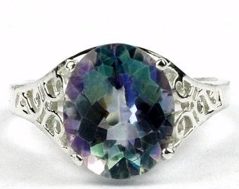 Neptune Garden Topaz, 925 Sterling Silver Ring, SR057