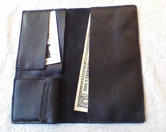 Hand-Made Leather Billfold Wallet
