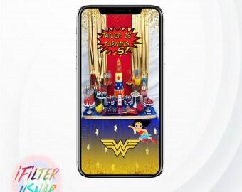Wonder Woman Snapchat Geofilter