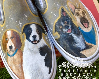 Custom Painted Pet Vans